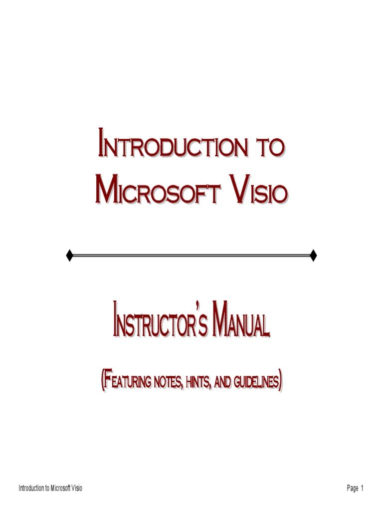manual de visio double click icon computing - Microsoft Visio Manual