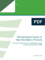 Bakery Survey 08 Final Report