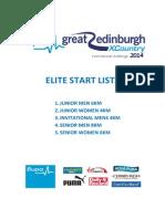 2014 Bupa Great Edinburgh Xc