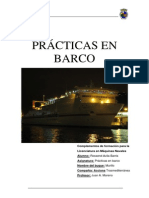Prácticas de embarque CFLMN