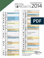 FFWD editorial calendar 2014
