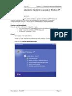 12.2.2 Lab Advanced XP Install