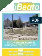"""Edição de Julho do Boletim Informativo """"O Beato"""""""