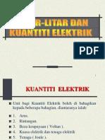 Litar-litar Dan Kuantiti Elektrik