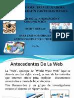 web y web 2.0