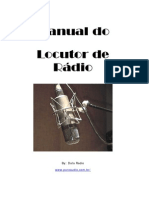 Manual do Locutor de Rádio