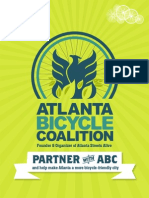 Atlanta Bicycle Coalition 2014 Sponsorship-Book