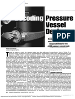 Overview of Decoding Pressure Vessel Design