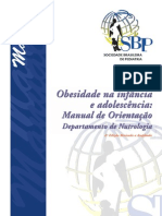 Manual Obesidade SBP 2012