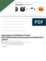 Curso - Mktg Como Anunciar No Facebook Em 4 Passos _ Tutoriais Web 3