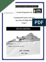 Informe - Granulometria