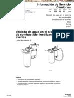 Manual Agua Sistema Combustible Camiones Volvo