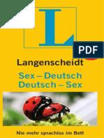 Langenscheidt Sex-Deutsch & Deutsch-Sex