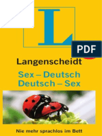 Langenscheidt Sex-Deutsch & Deutsch-Sex