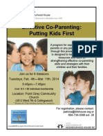 Co Parenting Poster Winter 2014