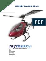 FALCON 3D ArtTech instrucciones español