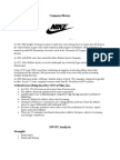 Case Study on Nike  Inc Scribd NIKE