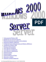 Windows 2000 Server Todo