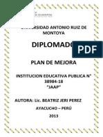 Plan de Mejora 38984