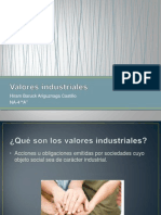 Valores Industriales