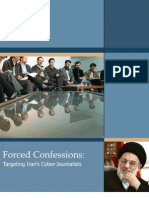 Forced Confessions - Targeting Iran's Cyber-Journalists