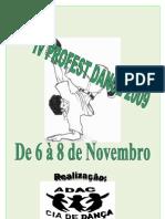 IV Profest Dance 2009 Regulamento