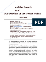 Defence of USSR