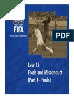 Law 12 Fouls Misconduct en 47379