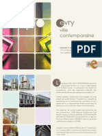 Invitation Expo Evry ville contemporaine