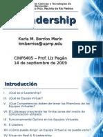 E-Leadership kmberrios Sep2009