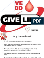 Give Blood Give Life - Blood Donation
