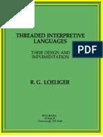Threaded Interpretive Languages