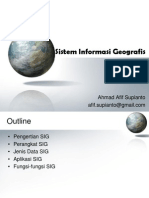Materi 01 Overview GIS