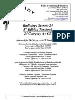 Instant Post Test Radiology Secrets 24