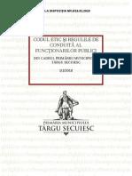 Codul Etic Al Functionarilor Publici