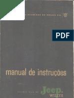 jeep cj5 manual de instrucoes 1958 [jipenet]