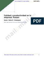 Calidad y Productividad en La Empresa - Kaizen