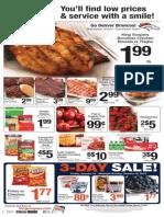 King Soopers超级市场1月8日到14日优惠