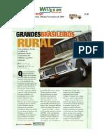 jeep rural teste revista quatro rodas 2001 [jipenet]