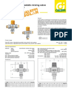 252-Mixing Valve 3Cv Solar Caleffi Specification