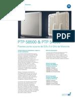 PTP500 Specsheet XL-ES