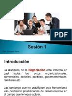 S1. Negociación, Conflictos y Paradigmas