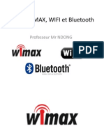 Cours Wimax Wifi Bluetooth Final Wimax