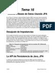 Tema 16 - Acceso a Base de Datos Usando JPA