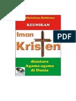 KEUNIKAN IMAN KRISTEN DIANTARA AGAMA-AGAMA