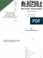 De Sapos a Principes (Richard Bandler. John Grinder)