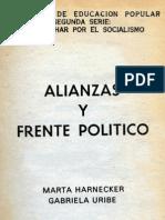 alianzas y frente politico CEP Nº 12