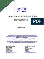 UKOOA FPSO Design Guidance Notes 2002