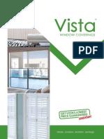 Vista Blinds & Curtains Brochure September 2013