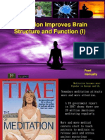 Changing Brain Function and Structure--by Peggy Chang